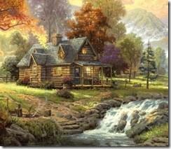 дом у водопада1